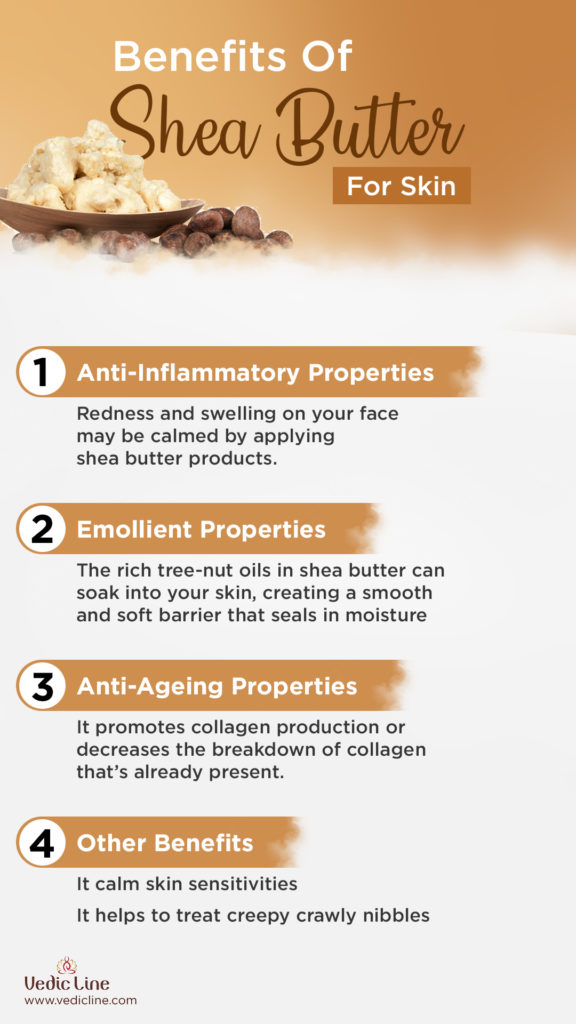 Benefits of shea butter-Vedicline