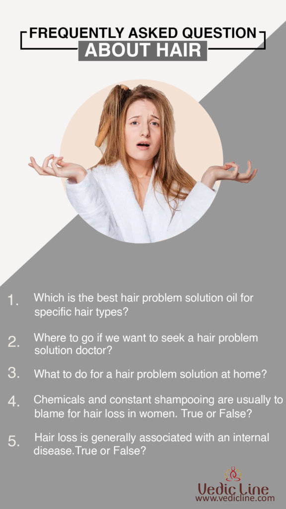 Frequently Asked questions for hair-Vedicline