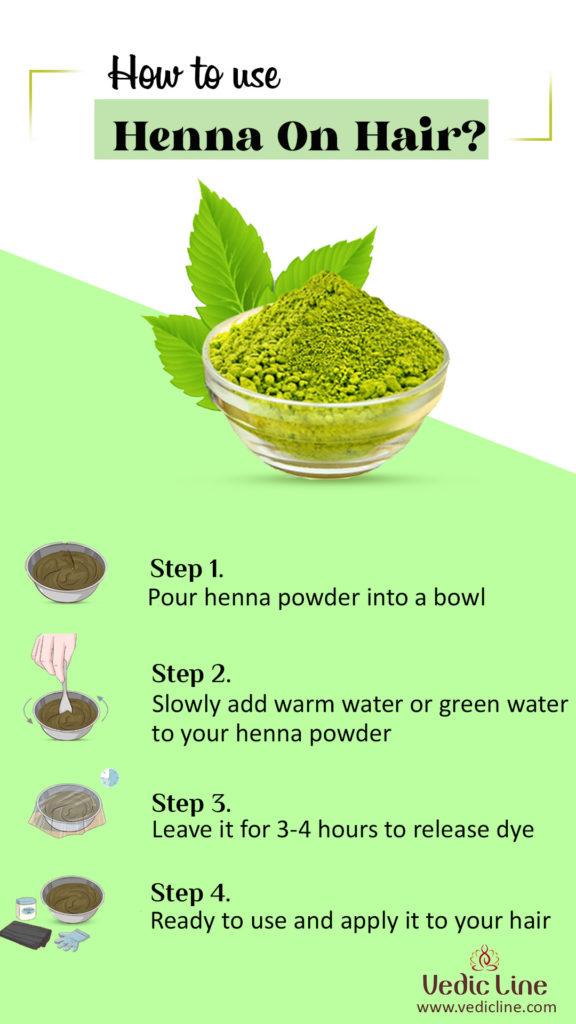 How to use henna on hair ?