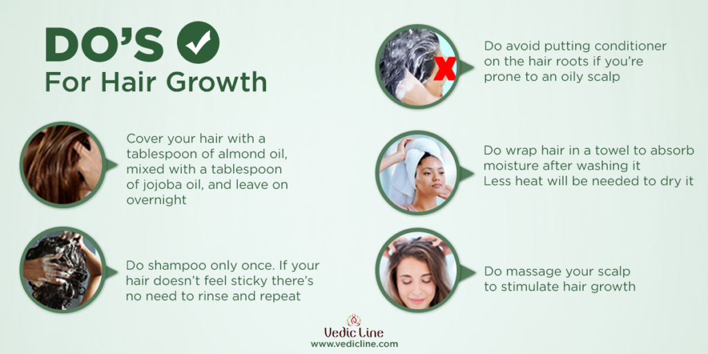Top Do's For Hair care & Growth - Vedicline