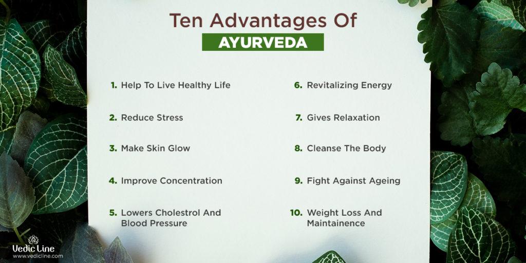 Advantages of Ayurveda -Vedicline