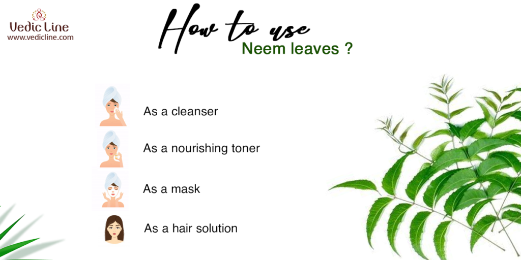 How to use neem leaves?