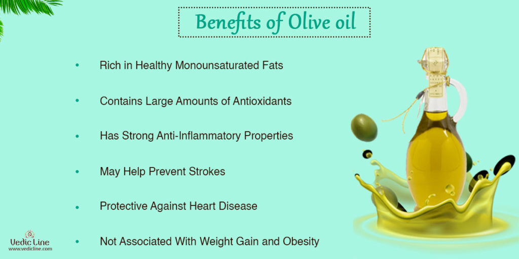 Benefits of olive oil-Vedicline