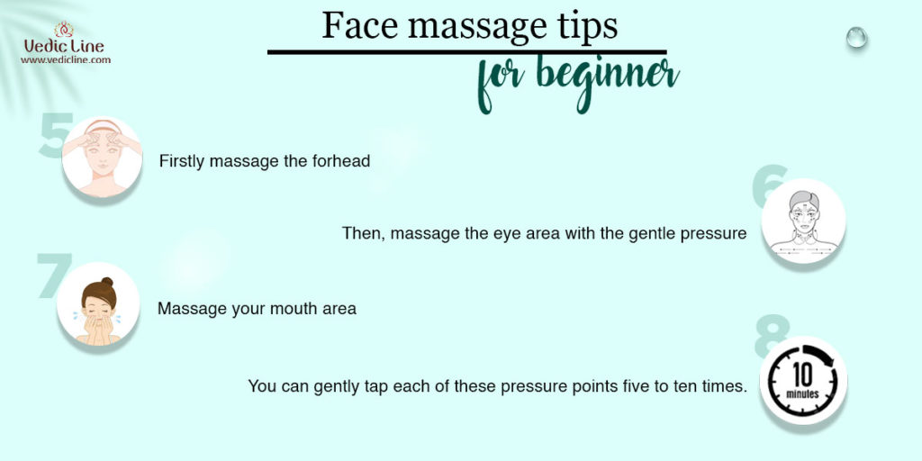 Face massage tips for beginners-Vedicline