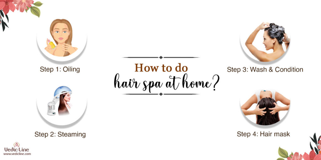 How to do hair spa at home: Vedicline