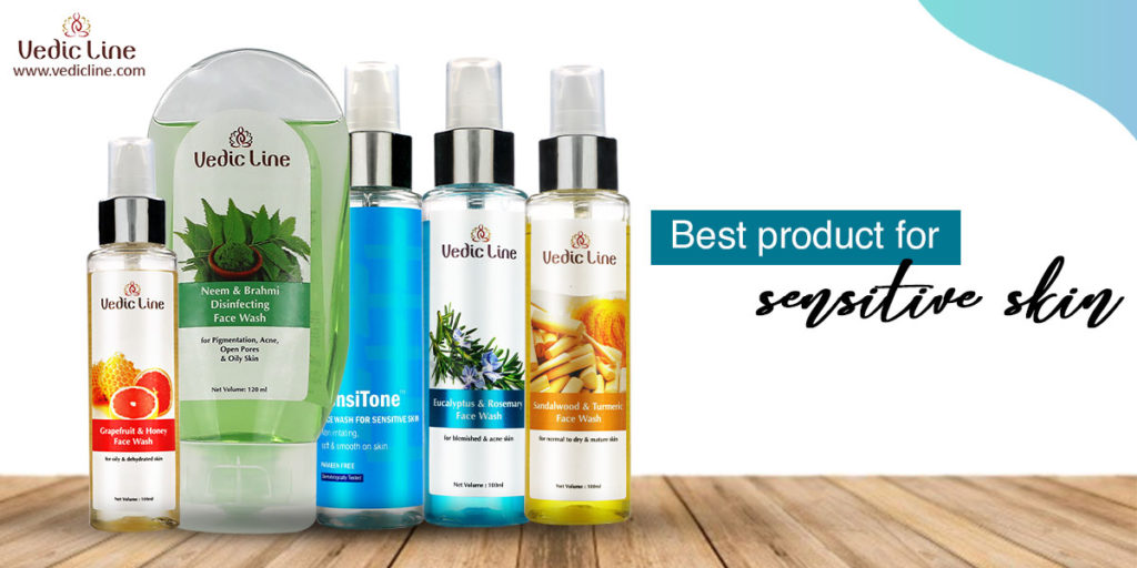 Best products for sensitive skin-vedicline