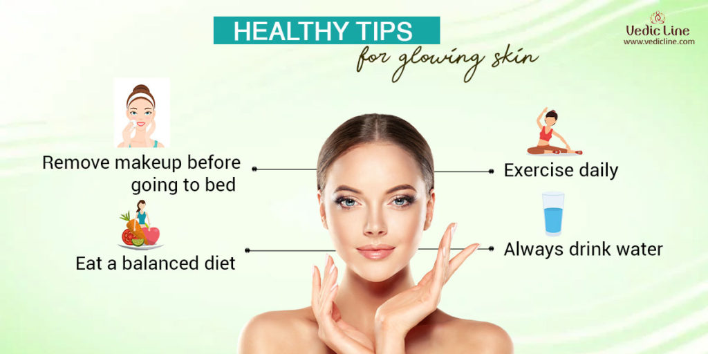 tips for glowing skin: healthy tips for glowing skin