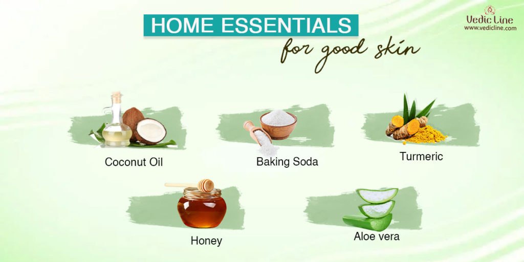 tips for glowing skin: Home essentials for food skin
