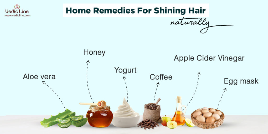 Home remedies for shinny hair at home-Vedicline (2)