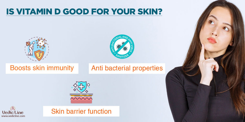 vitamin d for skin whitening: Is vitamin d is good for skin -Vedicline