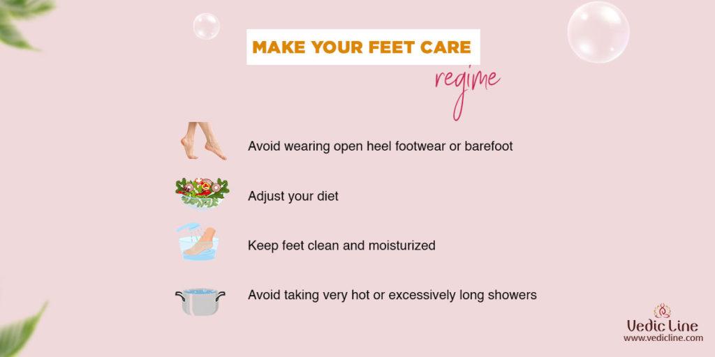 Make your feet care regime