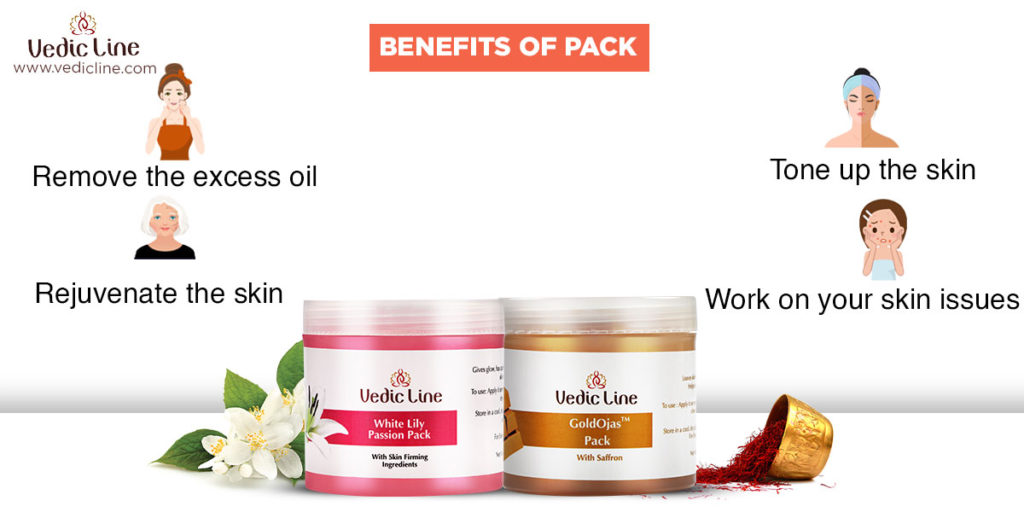 Benefits of face Pack-Vedicline