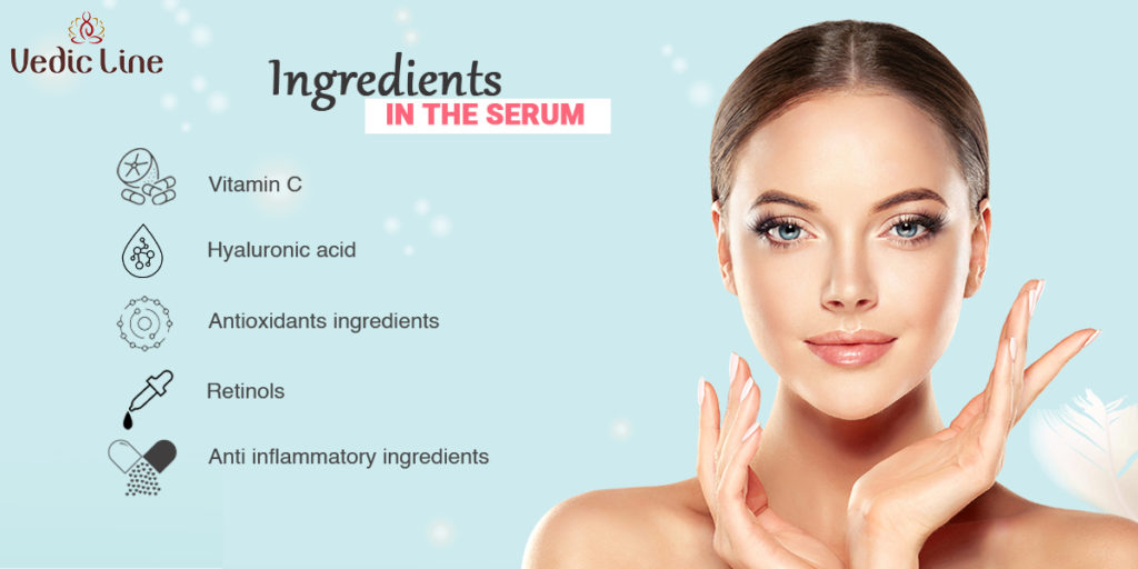 Ingredients in the natural Serum-vedicline
