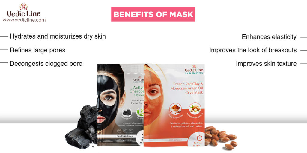 Face mask benefits-the difference between packs