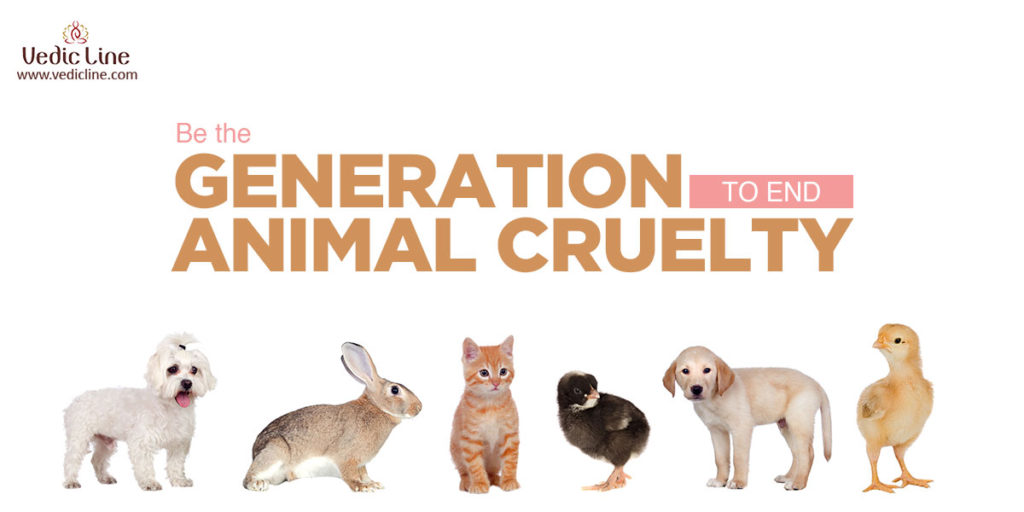 Be the generation that end animal Cruelty -vedicline