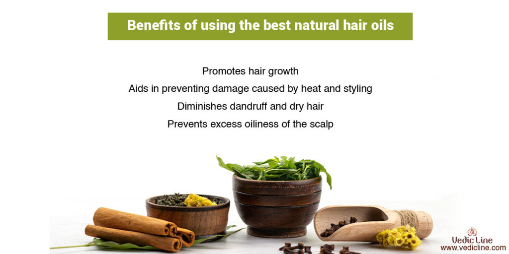 Benefits of using the best natural hair oil-vedicline