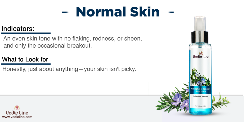 Best cleanser for normal skin-Vedicline