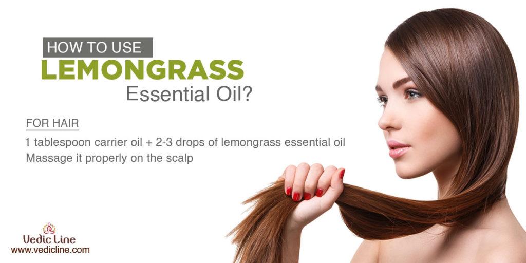 How to use lemon grass oil-Vedicline