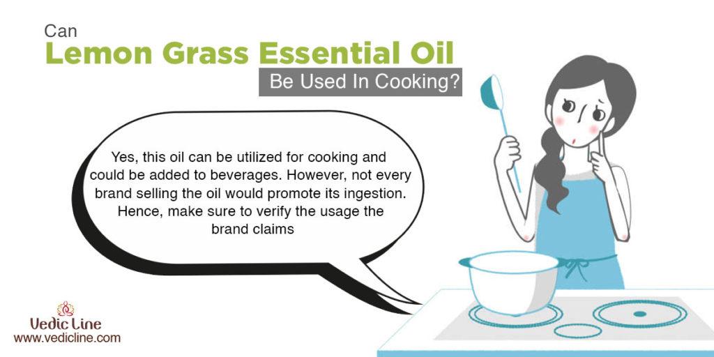 Lemon grass oil for cooking Vedicline