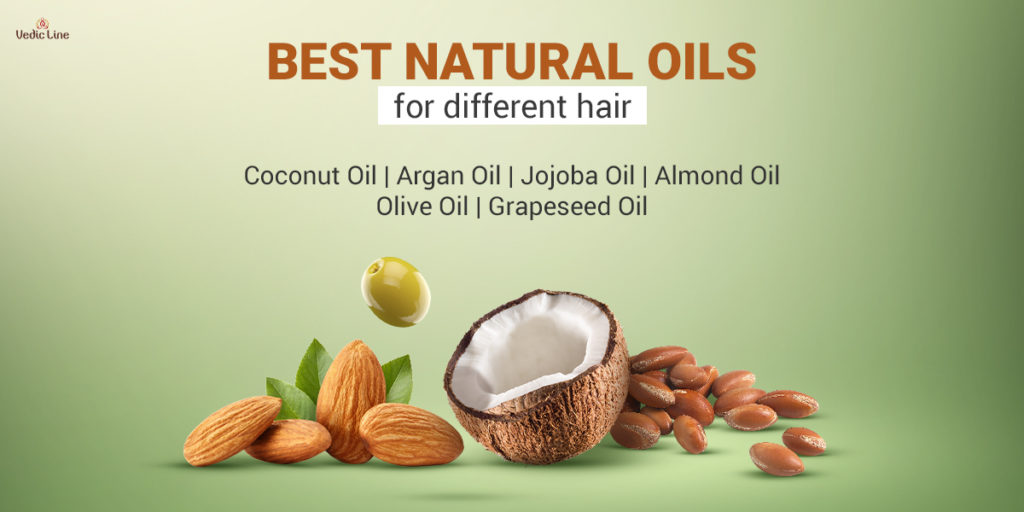 Natural hair oil for every type of hair -Vedicline
