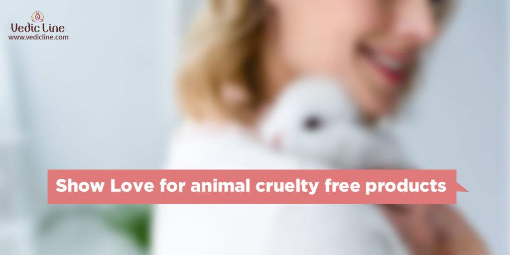 Show love for animals-Vedicline-Peta