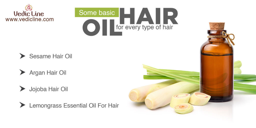 Some basic hair oil for every hair type-vedicline